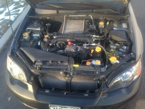2005 Subaru Legacy GT engine