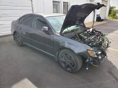 2009 Subaru Legacy GT 2.5L 135k A/T Dark Gray