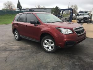 2018 forester front right