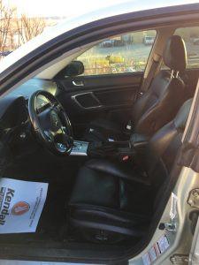 2005 Outback XT interior