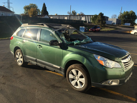 2011 Subaru Outback 2.5L 111k A/T CVT Green
