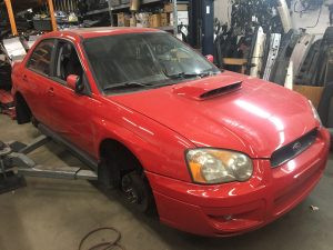 2004 WRX sedan front right