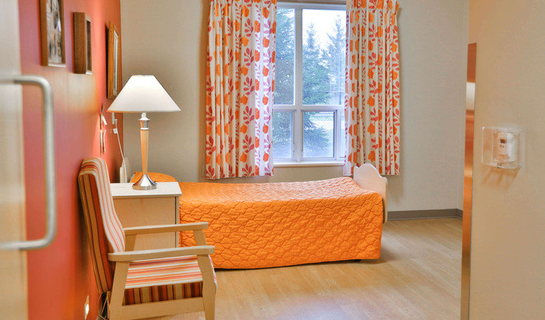 henley place long term care resident room