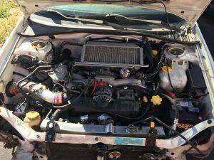 2003 WRX wagon engine bay