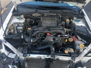 2005 Legacy GT engine bay