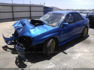 2004 Subaru STI World rally blue complete 118k PART OUT 6 Speed