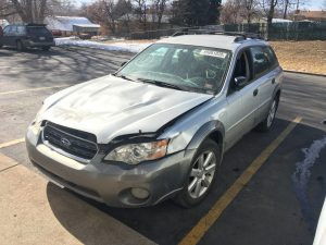 2006 Outback wagon front left