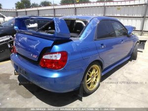 2004 STI WRB right rear