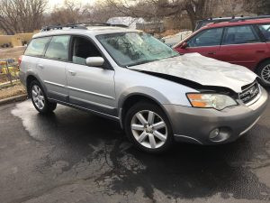 2007 outback wagon right front