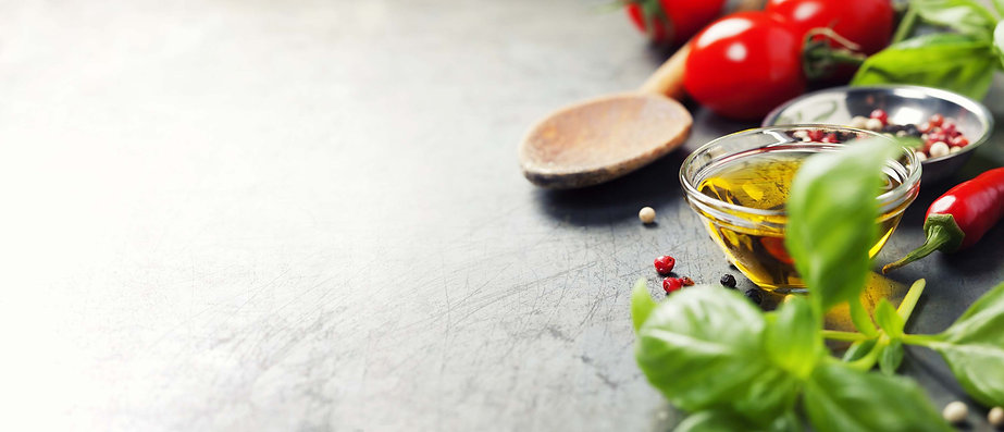 cooking ingredients on table