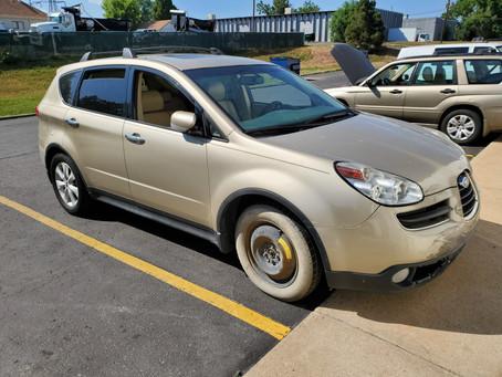 2007 Subaru Tribeca 3.0L 198K Auto Gold
