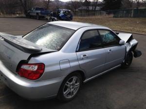 2004 Subaru WRX sedan RR