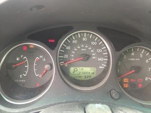 2005 Subaru Forester XT cluster