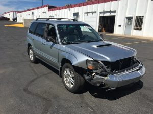 2004 Subaru forester xt front right
