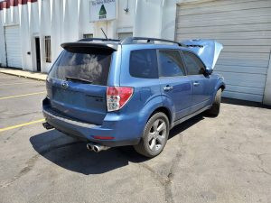 2009 Forester XT right rear
