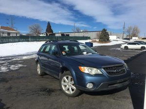 2008 Outback right front