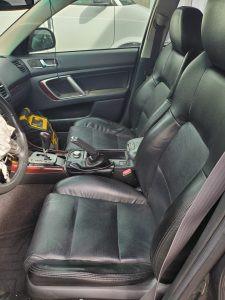 2009 Legacy GT interior