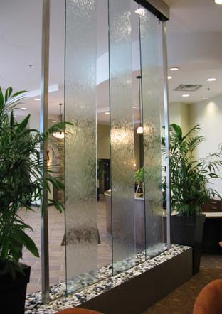lobby of ic savings building