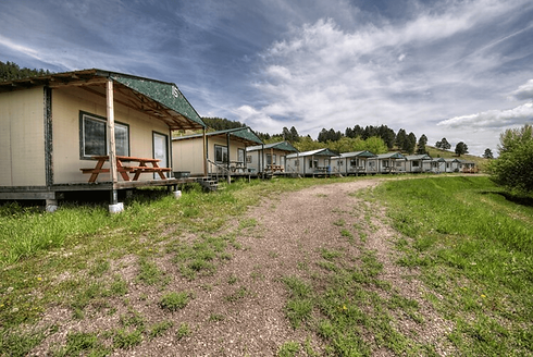 eagles landing campground cabins