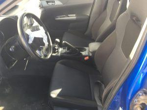 2008 Subaru WRX hatch interior