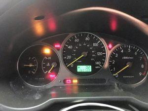 2003 Subaru WRX wagon cluster