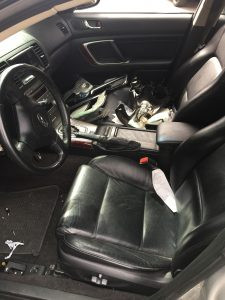 2007 legacy sedan interior