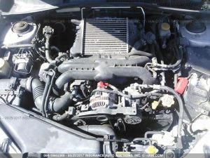 2005 Subaru Legacy GT engine bay