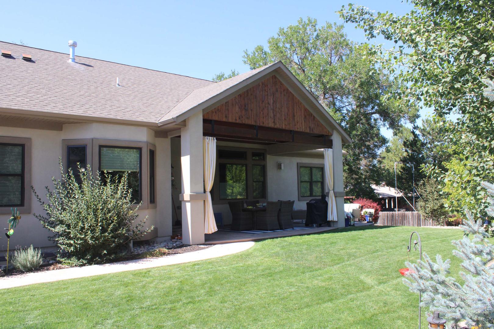 enclosed home patio