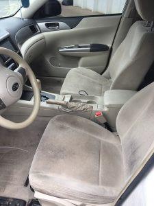 2008 impreza sedan interior