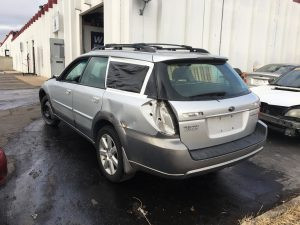 2007 outback wagon left rear