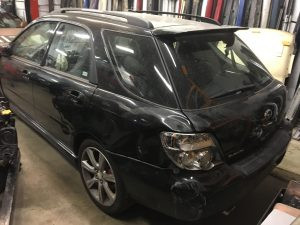 2006 WRX wagon left rear