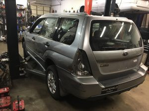2008 Subaru forester left rear
