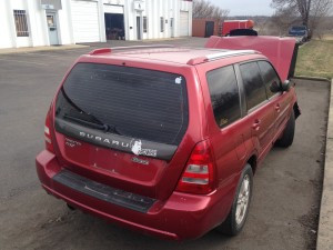 2005 Subaru Forester XT rear