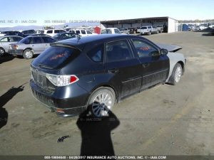 2009 impreza right rear