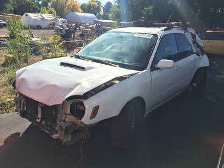 2003 Subaru WRX wagon 181K White 5 Speed M/T