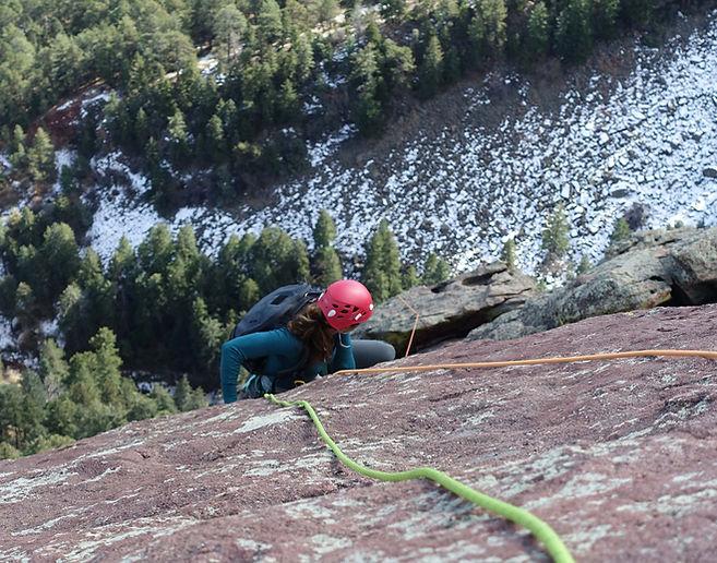 jaala shaw rock climbing