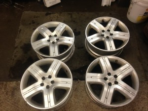 2008 Forester XT wheels