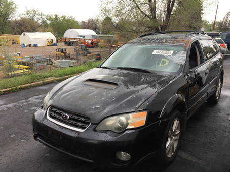 2005 Subaru Outback XT 2.5l 152k M/T 5speed black