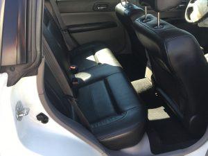2005 Subaru Forester XT rear seats
