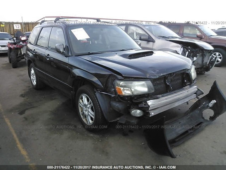 2004 Subaru Forester 2.5 XT AUTO 4eat 182k Black complete part out