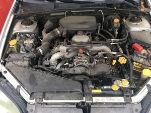 2005 Legacy Sedan engine bay