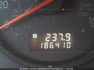 2005 Subaru Legacy GT mileage