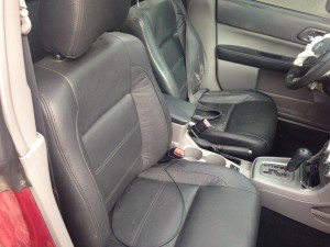 2005 Subaru Forester XT interior
