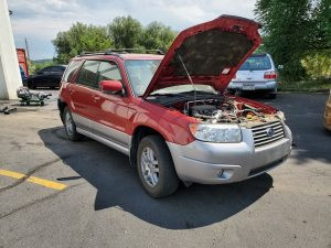 2008 Forester front right