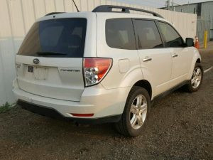 2009 Forester right rear