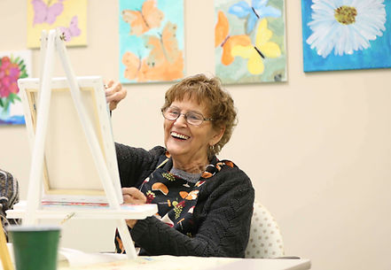 primacare senior resident painting