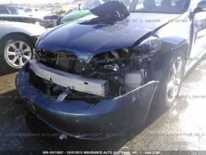 2005 Subaru Legacy GT Wagon front