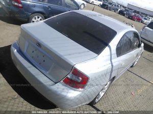2005 Subaru Legacy GT right rear