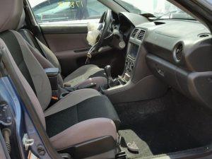 2007 impreza sedan interior