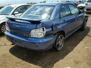 2007 impreza sedan right rear